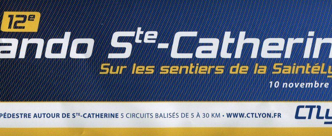Rando Run de Sainte-Catherine