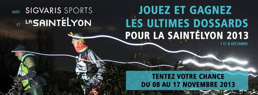 Ultimes dossards pour la SaintéLyon 2013