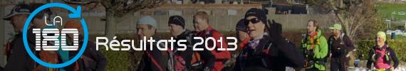 La 180 2013 - Les résultats