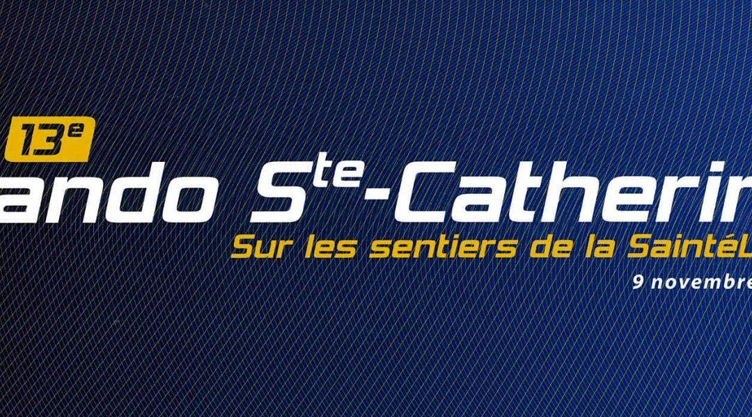 Rando pedestre de Sainte Catherine