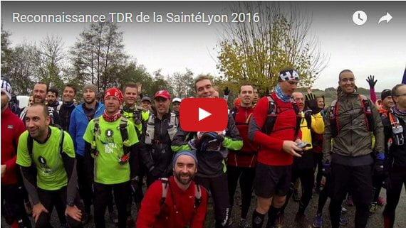 SaintéLyon 2016 : vidéo reco TDR