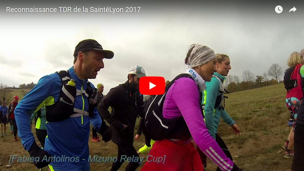 SaintéLyon 2017 : vidéo reco TDR